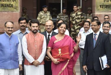 Union Budget 2019 in Nirmala Sitharaman Photo Gallery - Sakshi