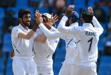 India Vs West Indies First Test Cricket Match Photo Gallery - Sakshi