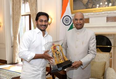 CM YS Jagan meets President Ramnath Kovind Photo Gallery - Sakshi