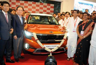 Kia Motors New Car Launch in Andhra Pradesh Photo Gallery - Sakshi