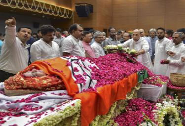 Sushma Swaraj funeral Photo Gallery - Sakshi