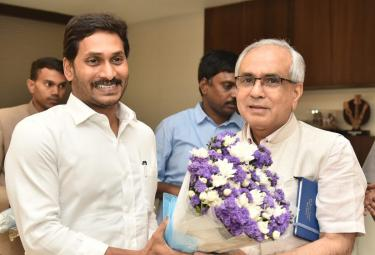 Niti Aayog Vice Chairman Meets Cm Jagan Amaravati Photo Gallery - Sakshi