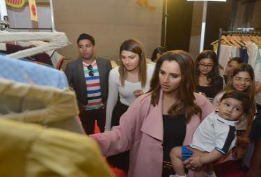 Label Bazaar Inaugurated by Sania Mirza at Hyderabad Photo Gallery - Sakshi