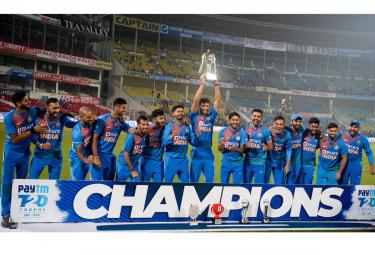 India win T20 series vs Bangladesh Photo Gallery - Sakshi