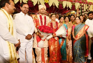 Minister Etela Rajender Daughter Wedding Photo Gallery - Sakshi