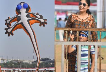 Kite And Sweet Festival In Hyderabad - Sakshi