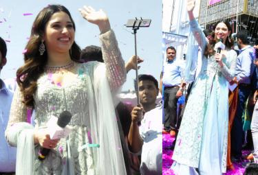 Nizamabad Malabar Gold Daimonds Grand Opening By Tamanna Bhatia - Sakshi