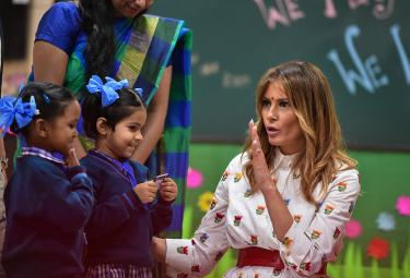 Melania Trump Visit Delhi Government School Photo Gallery - Sakshi