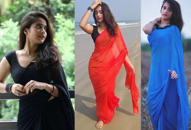 Actress Deepthi Sunaina exclusive photo gallery - Sakshi
