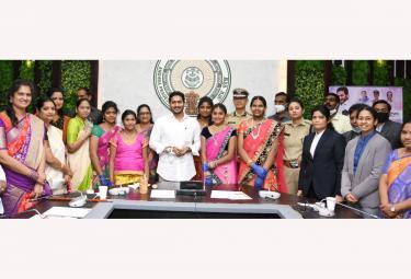 CM YS Jagan Mohan Reddy launch e-Rakshabandhan Photo Gallery - Sakshi