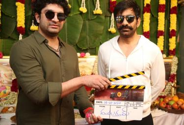 Ravi Teja Khiladi Movie Shooting start Photo Gallery   - Sakshi