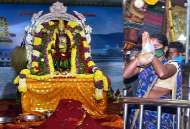 Sri Mahalakshmi Avataram in Vijayawada Kanaka Durga Temple - Sakshi