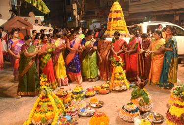 Bathukamma Celebrations 2020 At Telangana Photo Gallery - Sakshi