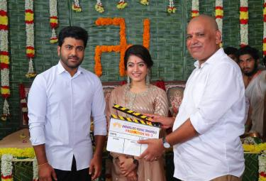 Sharwanand Next With Rashmika Aadaalloo Meeku Johaarlu is Began Shooting - Sakshi