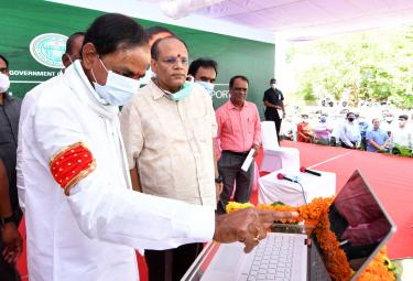 CM KCR to launch Dharani land records portal photo gallery - Sakshi