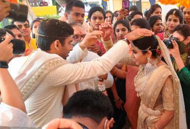 Komatireddy Venkat Reddy Daughter wedding Photo Gallery - Sakshi