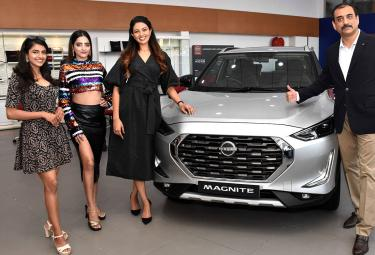 Nissan cars launch in hyderabad - Sakshi