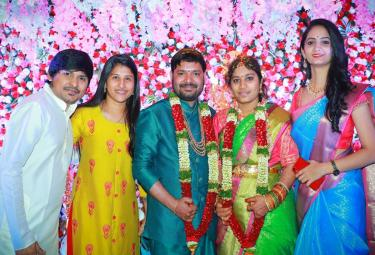 Jabardasth Comedian Rocking Rakesh Brother Wedding Photos - Sakshi