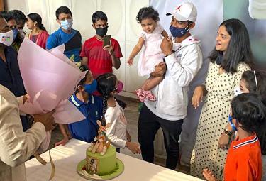 Ajinkya Rhane Receives Hero's Welcome After Returning Home From Mumbai - Sakshi