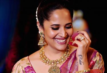 Anasuya Latest Traditional Photo Gallery - Sakshi