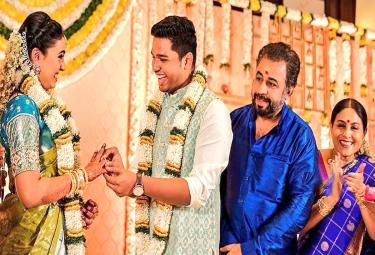 Wedding Bells For Saranya And Ponvannan's Daughter Priyadarshini - Sakshi