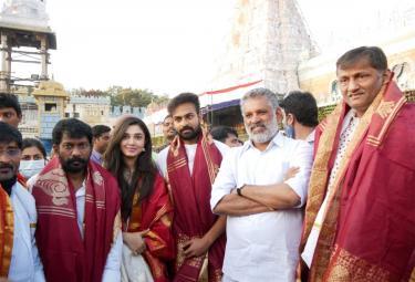 Uppena Team Visit Tirumala Photo Gallery - Sakshi