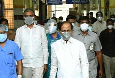 KCR visits Gandhi Hospital Photo Gallery - Sakshi