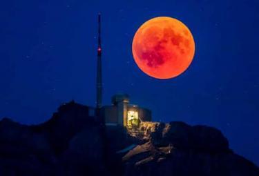 Super Blood Moon photo Gallery - Sakshi