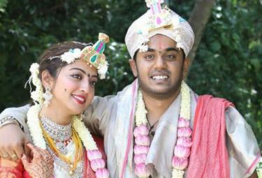 Actress Pranitha Subhash gets married to Nitin Raju photo Gallery - Sakshi