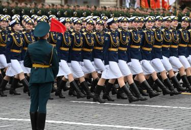 Victory Day Celebrations Grandly Held Held in Russia - Sakshi