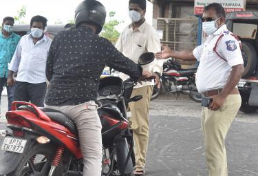 Andhra Pradesh Curfew Photos - Sakshi