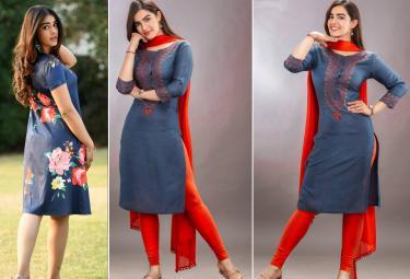 Ek Mini Katha Heroine Kavya Thapar Photos - Sakshi