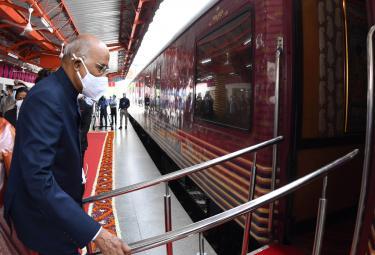 President Ram Nath Kovind Train Journey Photo Gallery - Sakshi