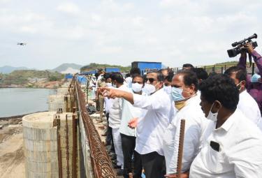 Sajjala Ramakrishna Reddy visit Polavaram project Photo Gallery - Sakshi