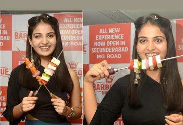 Ananya Nagalla at BBQ Nation 8th Outlet Grand Launch Photo Gallery - Sakshi