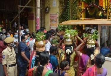 ujjaini mahankali bonalu Begins Photo Gallery - Sakshi