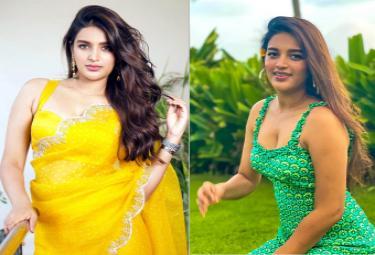 Tollywood Beauty Nidhhi Agerwal Photo Gallery - Sakshi
