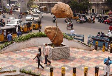 Photo Feature: Innovative Message Oriented Junctions Hyderabad - Sakshi