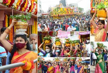 Hyderabad bonalu 2021 Photo Gallery - Sakshi