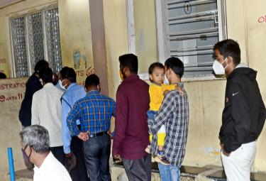Patient Queue For Fever Hospital Photo Gallery - Sakshi