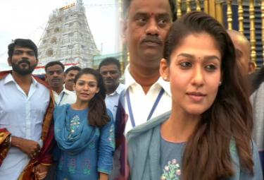 Dil Raju Vamsi Paidipally And Nayanathara Visits Tirumala Photo Gallery - Sakshi