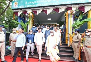 CM YS Jagan Mohan Reddy Visit Tirumala Temple Photo Gallery - Sakshi
