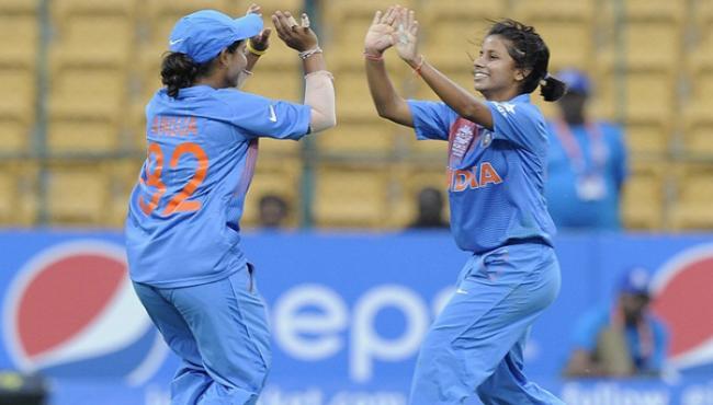 India Women Team Beat Sri Lanka In The First T20 - Sakshi