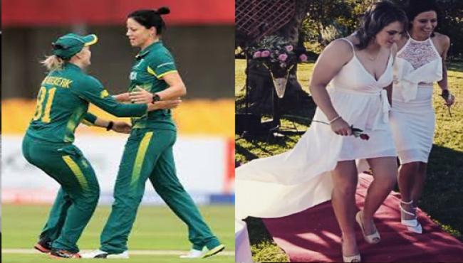 First Time Lesbian Married Couple Bats Together In Cricket - Sakshi