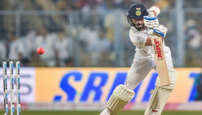 Virat Kohi completes 5,000 runs as Test captain - Sakshi