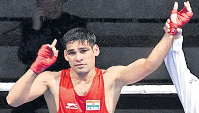 Telangana Boxer Husamuddin Is Eligible For Gold Medal - Sakshi