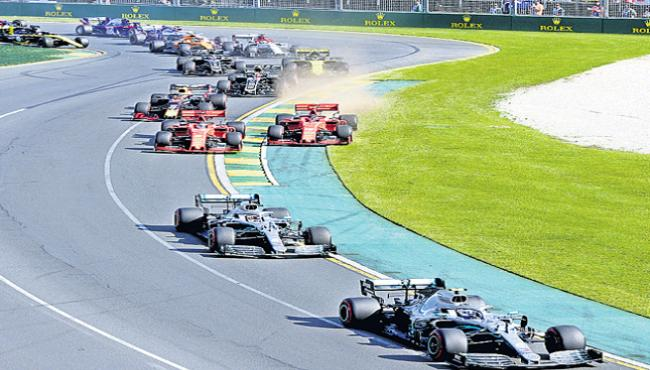 No race cancellation even if driver has COVID-19 - Sakshi