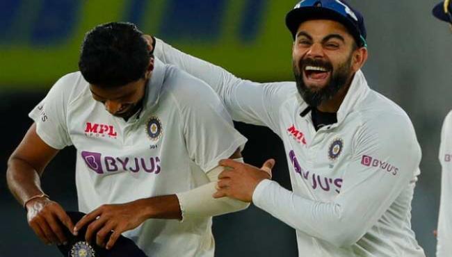Virat Kohli Breaks MS Dhoni Record With 22nd Test Win In Home Soil - Sakshi