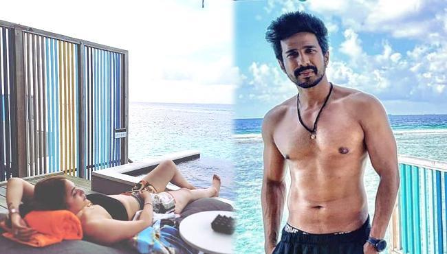 Love Birds Vishnu Vishal And Jwala Gutta Enjoying In Maldives - Sakshi