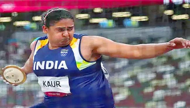 Kamalpreet Kaur Finishes Sixth In Discus Throw Final In Tokyo Olympics - Sakshi